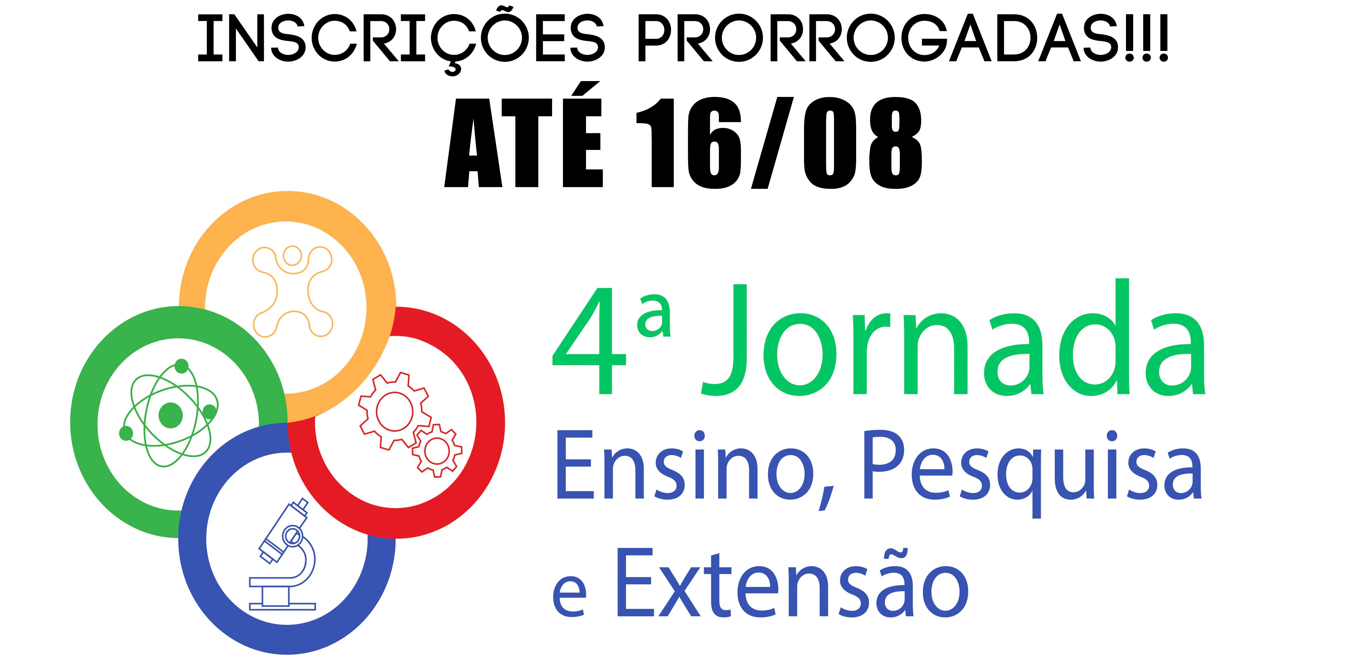 INSCRIÇÕES PRORROGADAS!!!! ATÉ DIA 16.08